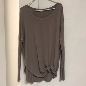 Tan/brown Boutique Top